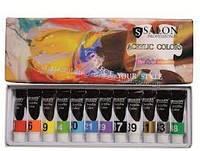 Набір акрилових фарб Salon по 6 ml