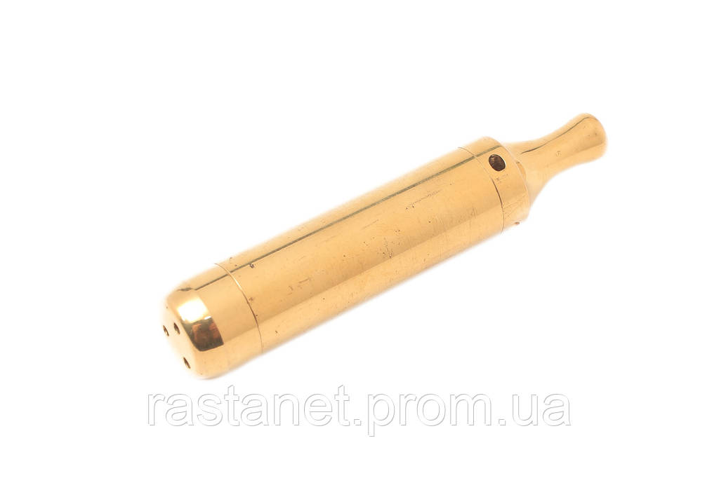 """Трубка  """"Торпеда""""  золотая. 8,5 см."""