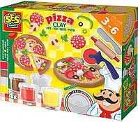 SES Creative Незасыхающая масса для лепки SES Creative Пицца (0445S)