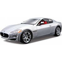 Bburago Авто-конструктор Bburago Maserati Gran Turismo (серебристый металлик, 1:24) (18-25083)