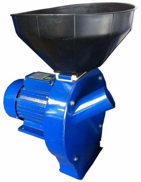 Зернодробилка-кормоизмельчитель Млин-ОК Млин-3 (2,5 кВт) молотковые ножи