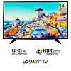 Телевизор LG 43UH6107 (PMI 1200Гц, Ultra HD, 4K Display, Smart, HDRPro TrueBlack, DVB-T2/S2)