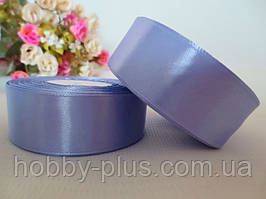 Атласна стрічка 2,5 см, колір світло-фіолетовий