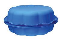 Детская Ракушка Песочница и Бассейн для сада 2 в 1 синяя (5901157676658)