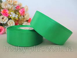Атласная лента 2,5 см, цвет светло-зеленый