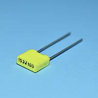 Конденсатор MKT  0.015µF 100V 5% прямоугольный КМКТ (аналог EB)