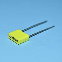 Конденсатор MKT  0.022µF 100V 5% прямоугольный КМКТ (аналог EB)