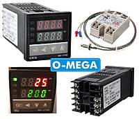 ПИД-терморегулятор REX-C100+SSR-40 DA+термопара 0-400°C