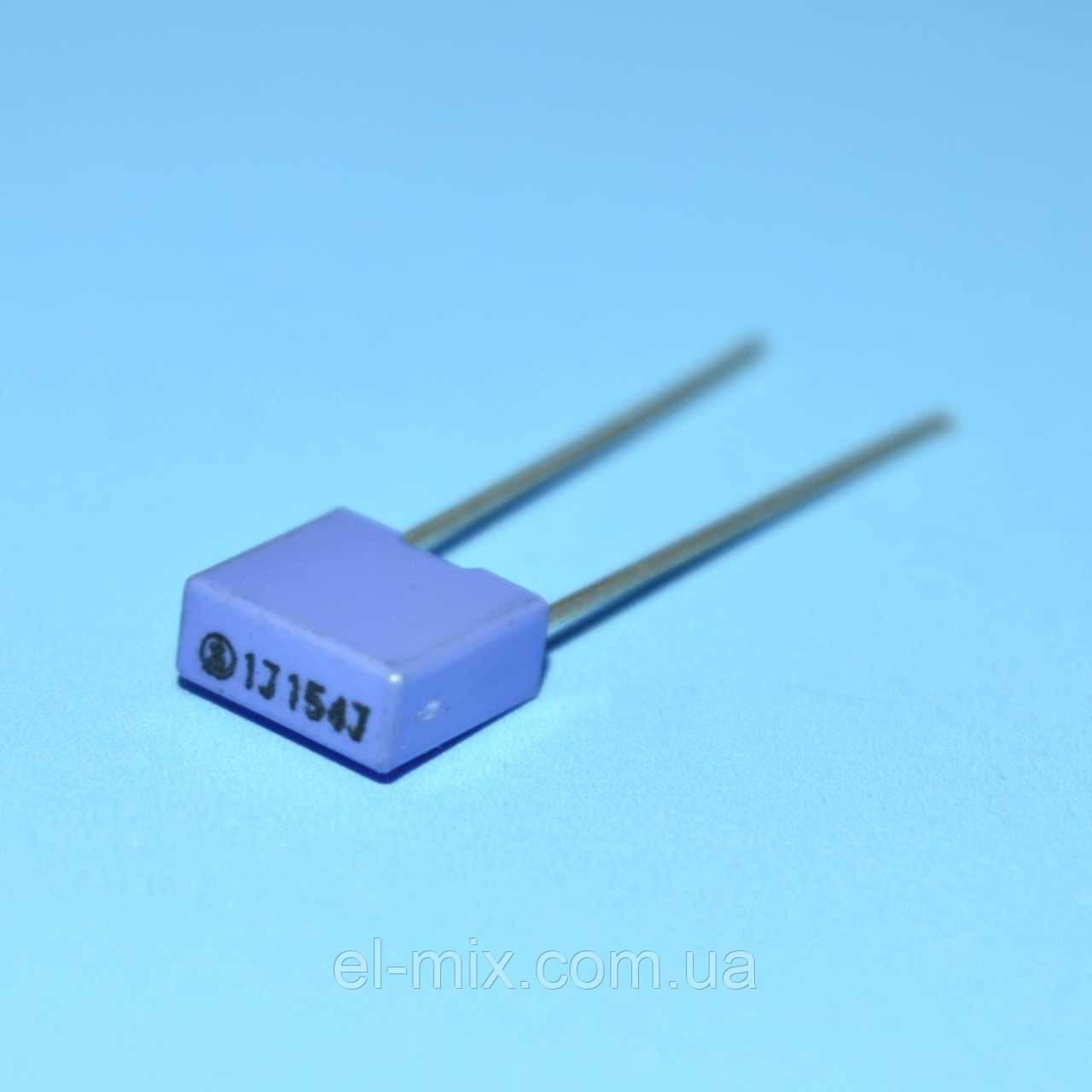 Конденсатор MKT  0.15µF  63V 5% прямоугольный EB 1J154J  Samwha