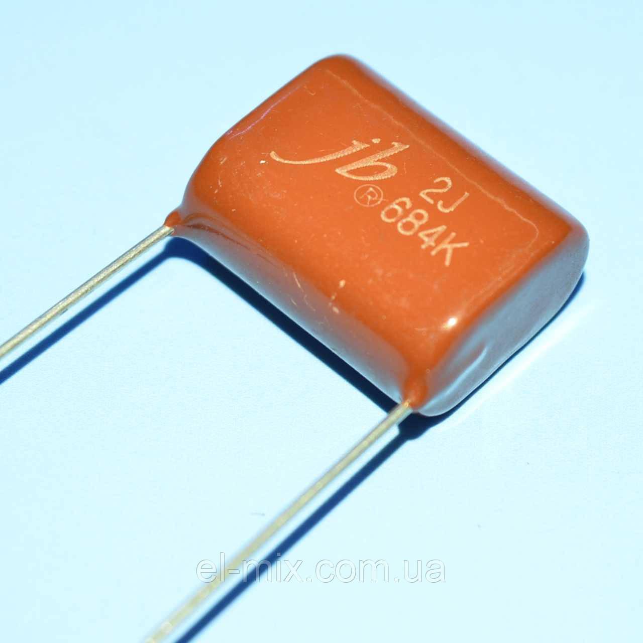 Конденсатор металлопленочный CL-21 0.68 µF 630V(2J) ±10% JB