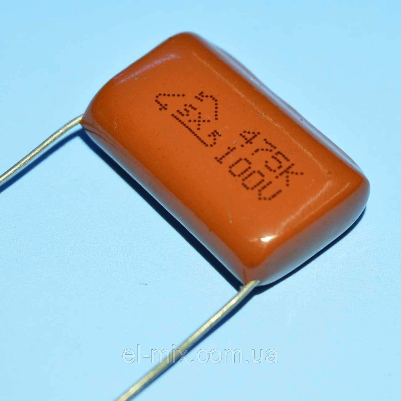 Конденсатор металлопленочный CL-21 4.7 µF 100V ±10% SX