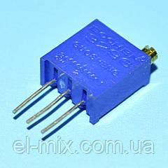 Резистор подстроечный многооборотный  3296W    200 Om  Bochen