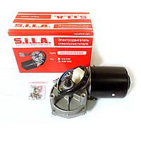 Электродвигатель стеклоочистителя с редуктором 12В (ТМ S.I.L.A. фирм. упак.) Рекомендовано!!!