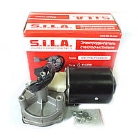 Электродвигатель стеклоочистителя с редуктором в сб. (Калуга ТМ S.I.L.A. в фирм. упак.)