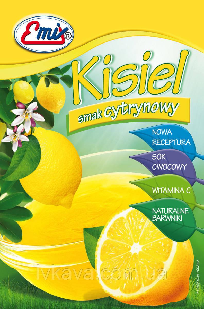Порошок для приготовления киселя Emix со вкусом лимона, 40 гр