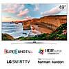 Телевизор LG 49UH770v (PMI 2500Гц, SUHD IPS Smart HDRSuper HarmanKardon 2.0, Magic, DVB-T2/S2)