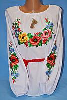 Красивая подростковая вышитая блуза