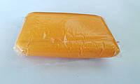 Сахарная мастика для лепки оранжевая 100 гр