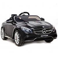 Дитячий електромобіль Mercedes Benz S63 Чорний