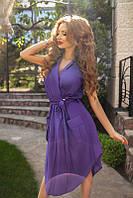 Модное летнее платье стильного фасона