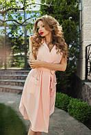 Молодежное стильное платье-халат