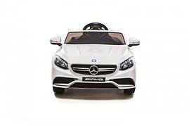 Дитячий електромобіль Mercedes Benz S63 Білий