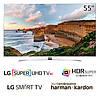 Телевизор LG 55UH950v (PMI 2700Гц SUHD Smart 3D HDRSuper+ HarmanKardon 2.2, Magic DVB-T2/S2)