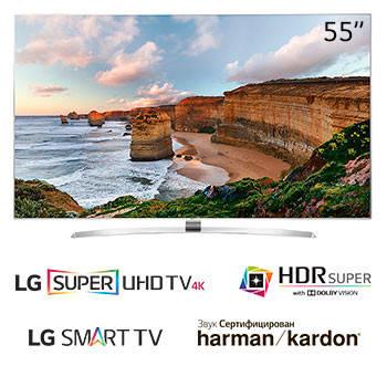 Телевизор LG 55UH950v (PMI 2700Гц SUHD Smart 3D HDRSuper+ HarmanKardon 2.2, Magic DVB-T2/S2), фото 2