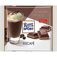 Шоколад Ritter Sport Eiscafe (с кофе гляссе) Германия 100г