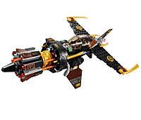 """Конструктор Bela Ninja (аналог Lego Ninjago) 10322 """"Истребитель Коула"""", 234 дет"""
