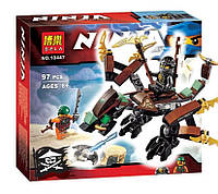 Конструктор Ninja Bela 10447 Дракон Коула (аналог LEGO Ninjago 70599)