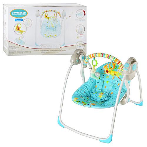 Кресло-качель Bambi 32006 голубая