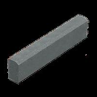 Поребрик (бордюр) 8 см серый, 100х20х8 см