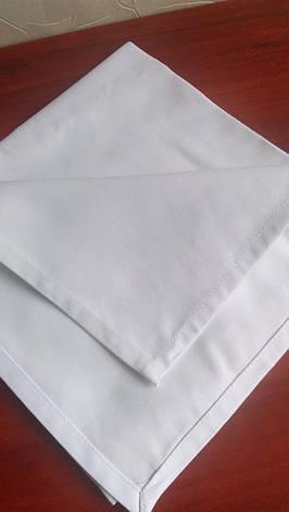 Салфетка 45х45 Белая Н-245-ХЛ 100% Хлопок Ручники, фото 2
