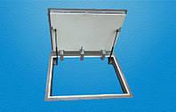 Люк напольный на пневмоподъемниках герметичный,утепленный 900Х900