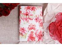 Красивая обложка на паспорт Нежные розы