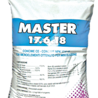 Master Майстер 17.6.18 - комплексне водорозчинне добриво з мікроелементами у формі хелатів 25кг, Valagro