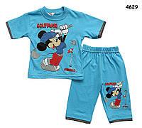 Летний костюм Mickey Mouse для мальчика. 80 см