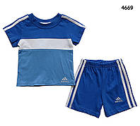 Летний костюм Adidas для мальчика. 18 мес