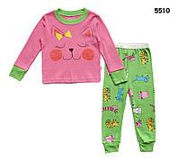 """Пижама """"Котик"""" для девочки. 3 года"""
