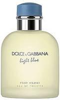 Мужская туалетная вода Light Blue pour Homme Dolce&Gabbana (тестер, 125 мл, ОАЭ) DIZ /0-031