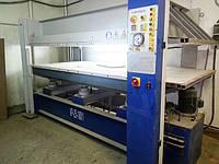 Горячий гидравлический пресс бу VP-25-100/1, 100 тонн, размер плиты 2500х1300 мм, 2008 г., фото 1