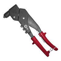 Пистолет заклепочный ручной поворотный на 360°, диаметр заклепки 3.2; 4; 4.8 мм Intertool RT—0009