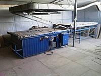 Вакуумный пресс б/у Полифасад для отделки фасадов и филенок пленкой ПВХ, 2005 год вып.