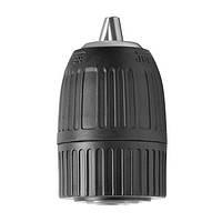 """Патрон для дрели самозажимной 3/8""""x24, 1—10 мм Intertool ST—3821"""