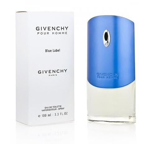 Мужская туалетная вода Givenchy pour Homme Blue Label 100 мл ОАЭ (тестер) (реплика)