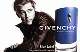 Мужская туалетная вода Givenchy pour Homme Blue Label 100 мл ОАЭ (тестер) (реплика), фото 3