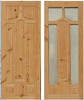 Двери деревянные МАДРИД с сучком