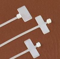 Кабельная стяжка с местом под маркировку 2.5х110 мм (100 шт.) белые LXL