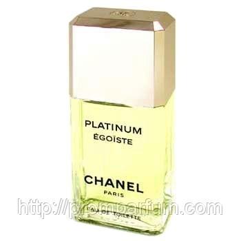 Мужская  оригинальная туалетная вода Chanel Egoiste Platinum 100 ml тестер  NNR ORGIN /05-87